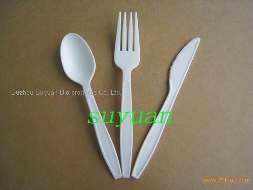 CPLA Biodegradable Cutlery Biodegradable Tableware