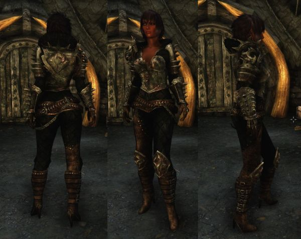 Tera Armor Retexture Unp Skyrim Nexus Mods And - Year of