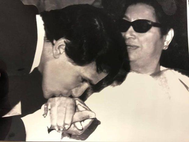 عبدالحليم وقبلة