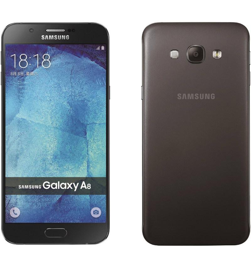 三星 Galaxy A8 率性黑,雙模 4G 窄邊框新色登場   3C 新報