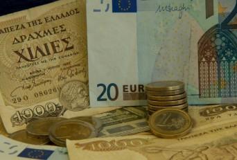 Előkerülhetnek a drachmák. AFP PHOTO / DENIS CHARLET