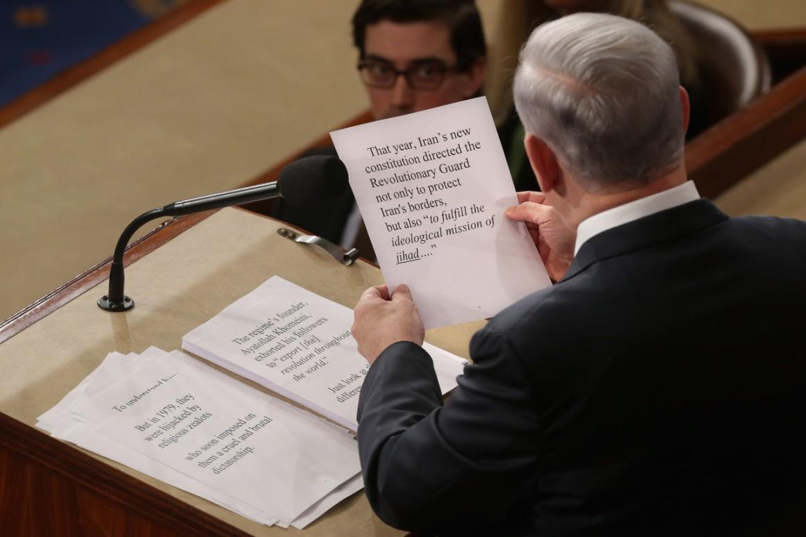 Benjamin Netanjahu felszólalása a kongresszus együttes ülésén szintén sokat rontott a viszonyon. Fotó: Chip Somodevilla / Getty Images News