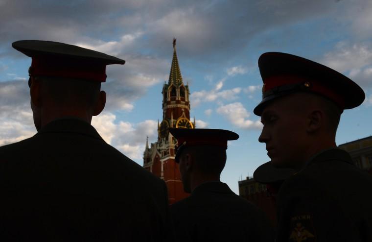 Katonák Moszkvában, a Vörös téren -  Vladimir Astapkovich/RIA Novosti