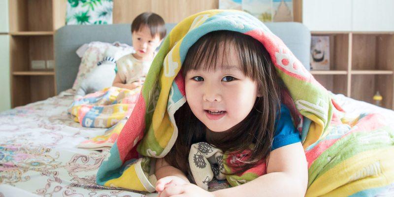 【團購】四季必備寶寶好物,日本製《三河木棉》六層紗被和防踢背心!