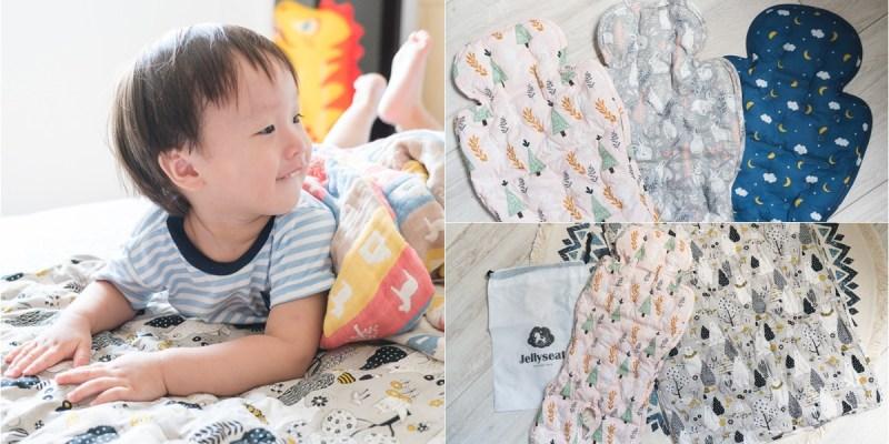 |育兒|夏天媽媽們的必備武器~韓國Jellyseat 2019獨家微顆粒果凍涼珠有機棉酷涼墊,還有獨家床墊唷!
