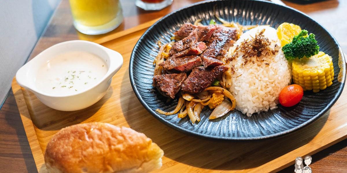 【台南安南區聚餐餐廳】福聚新輕食!低調適合聚餐的店,網路評價很不錯~早午餐、義大利麵、燉飯