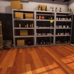 Ninja Ultra Kitchen System Cream Colored Painted Cabinets 你的理科廚房 Cooking Simulator Steam年底登場 練廚藝或作實驗都ok