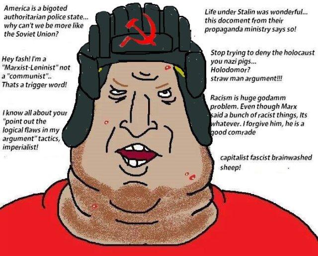 Image result for cartoon of communist pig