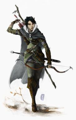 D&D 5e Elf Hunter Ranger
