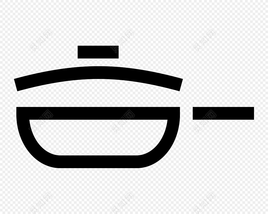 black kitchen appliances tables with benches 黑色线条卡通厨房用具锅图标免费下载 png素材 觅知网 黑色线条卡通厨房用具锅图标