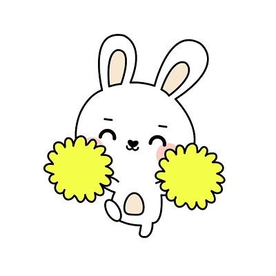 中秋可愛Q版兔子免扣素材免費下載_矢量素材_覓知網