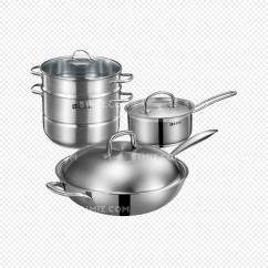 Kitchen Pot Sets Copper Accents 厨房锅具免费下载 Png素材 觅知网 厨房锅具