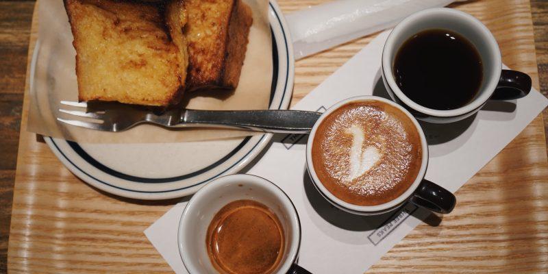 東京美食|可以吃早餐的池袋咖啡廳COFFEE VALLEY,蜂蜜吐司與三杯組咖啡