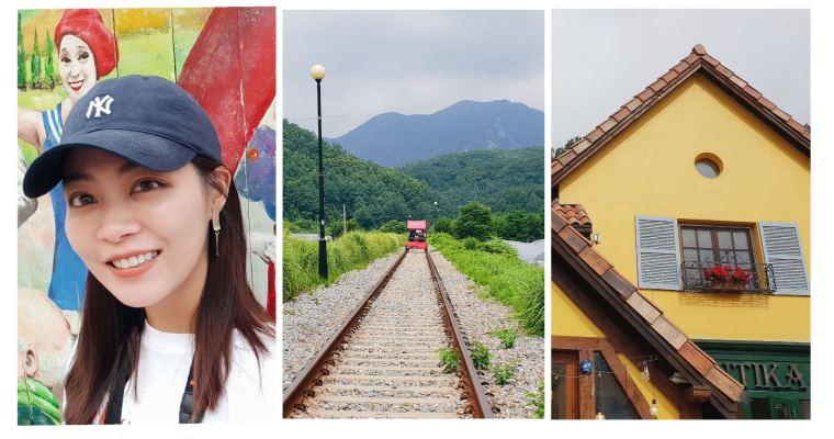 首爾旅行|近郊首爾一日遊,小法國村、江村鐵路自行車、南怡島,含辣炒雞排午餐
