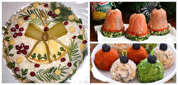 クリスマスツリー - 新年のテーブルを襲った