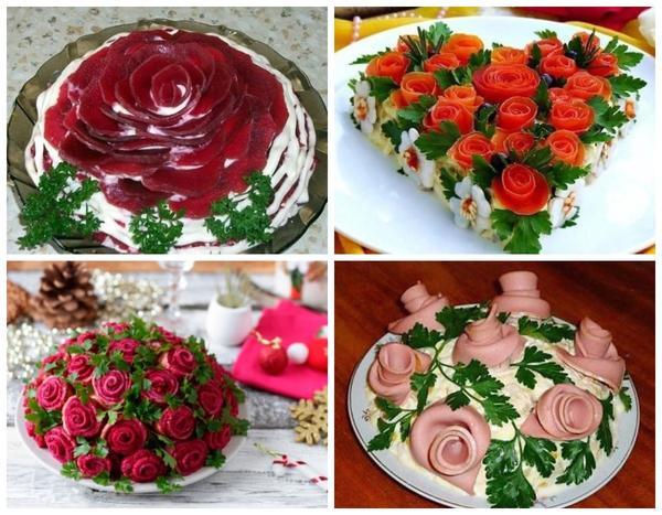 あなたはビートから素晴らしいバラを作ることができ、それ以外の料理が対処することを実行するのはとても簡単です。そして、ビットがすべて出てきたら、それをソーセージと交換してください!