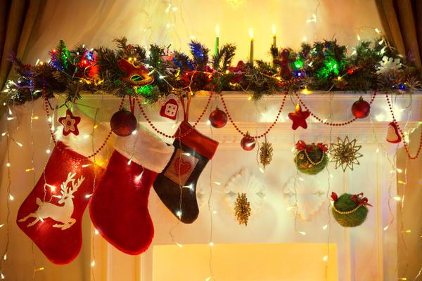 Во время католического Рождества трудно найти дом, в котором нет праздничного носка