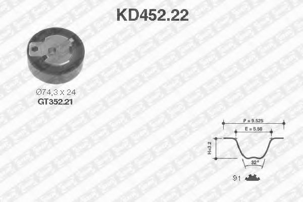 1201255 FORD Timing Belt Kit