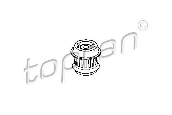 108 629 TOPRAN Mounting, automatic transmission; Mounting