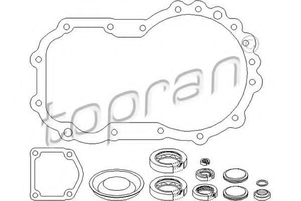 020 398 001 L VAG Gasket Set, manual transmission