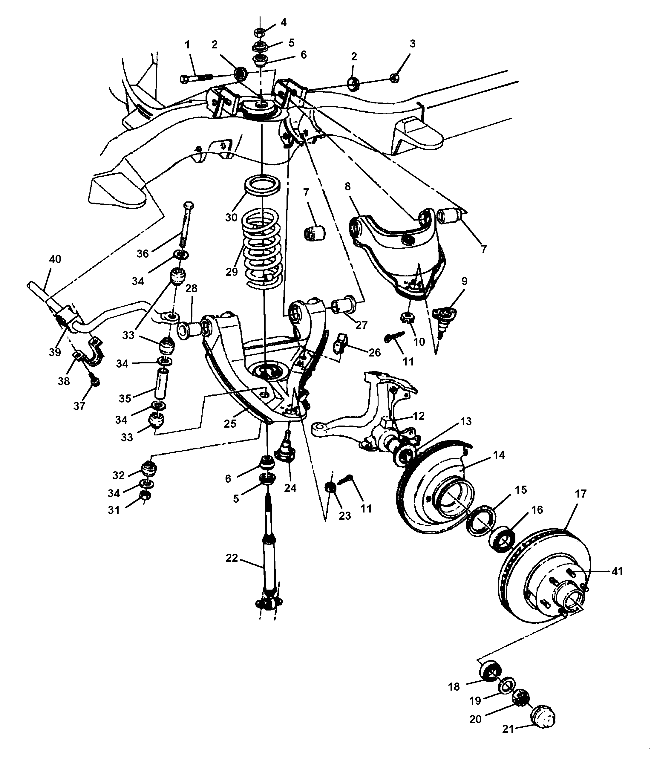 31 Chevy Truck Front Suspension Diagram