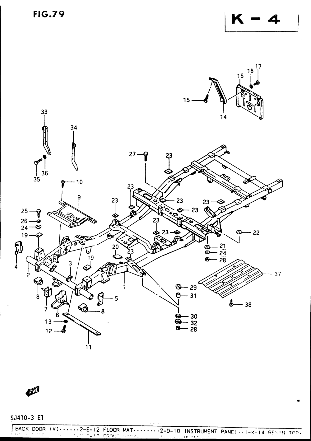 medium resolution of chassis frame w