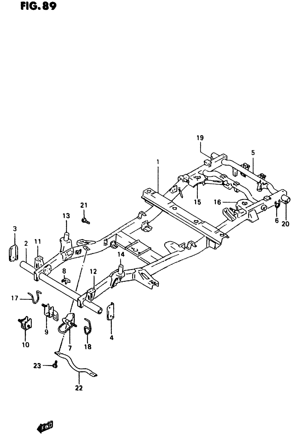 medium resolution of chassis frame