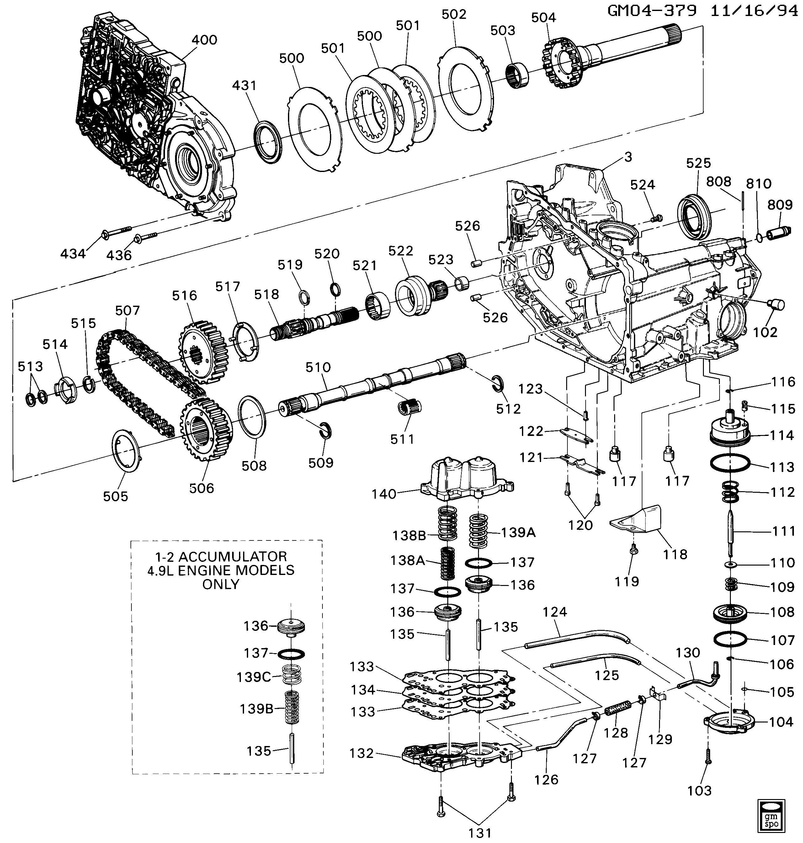 4t60 transmission diagram