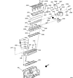 1997 1999 n engine asm 2 4l l4 part 2 cylinder head related parts chevy [ 3008 x 3400 Pixel ]