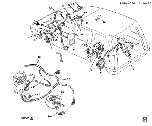 small resolution of 1993 1996 u brake system electrical jm4 chevrolet lumina lumina apv 1993 chevy lumina apv wiring diagram