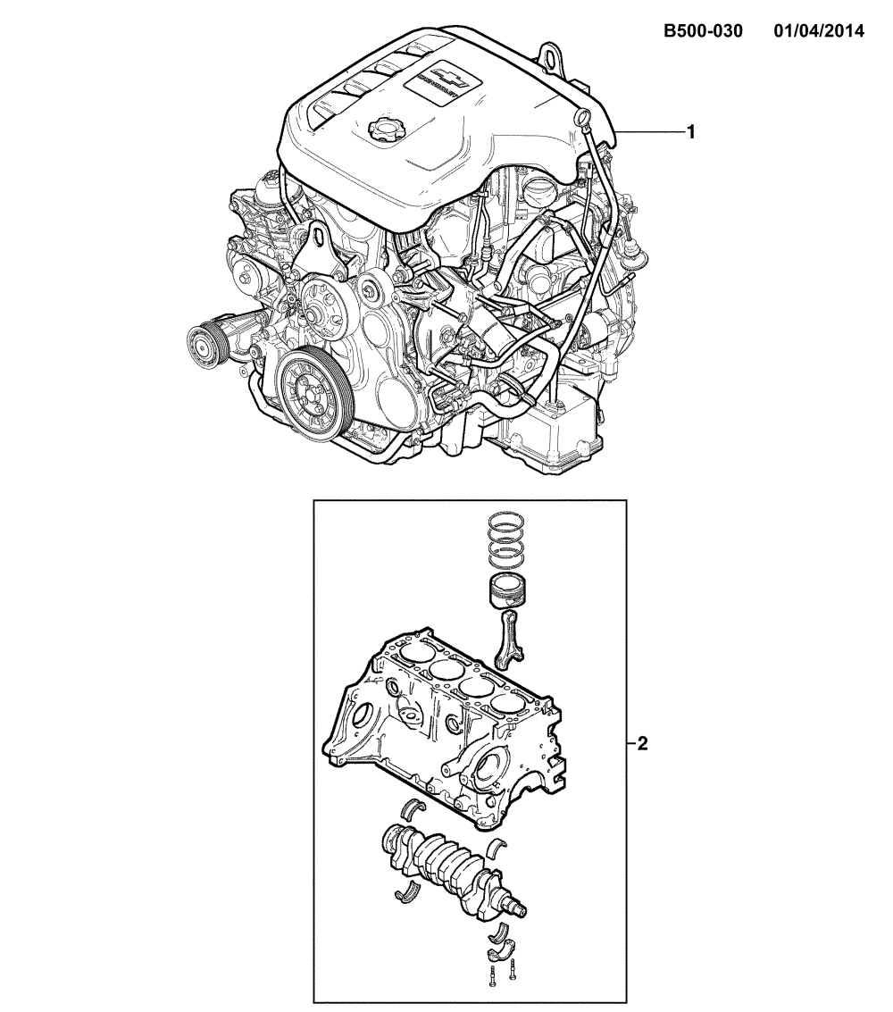 medium resolution of 2012 2017 2l 2s03 06 43 engine asm partial engine