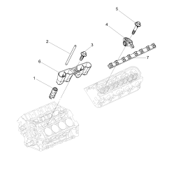 2010 2011 e19 69 engine asm v8 rocker arms and retainers l76 [ 3000 x 4205 Pixel ]