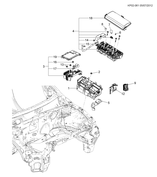 small resolution of 2013 2017 ps pt pu35 relays engine compartment