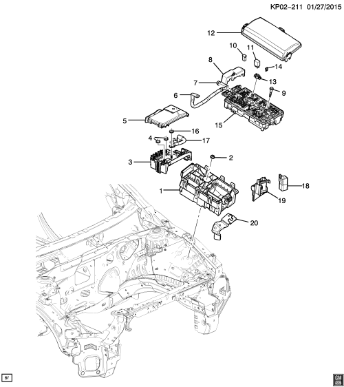 small resolution of chevrolet cruze engine compartment diagram wiring diagram used 2017 chevy cruze engine diagram