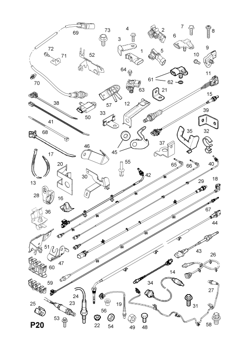 small resolution of wrg 5324 opel astra oxygen sensor wiring diagram fuse box on vauxhall astra 2012 catalytic