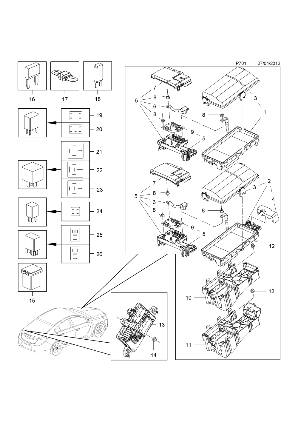 medium resolution of fuse box front a20dtc lcd a20dtl lbq a20dtj lbx a20dt lbr a20dte lhv a20dth lbs b20dth lfs a20dtr lby diesel engines vauxhall insignia