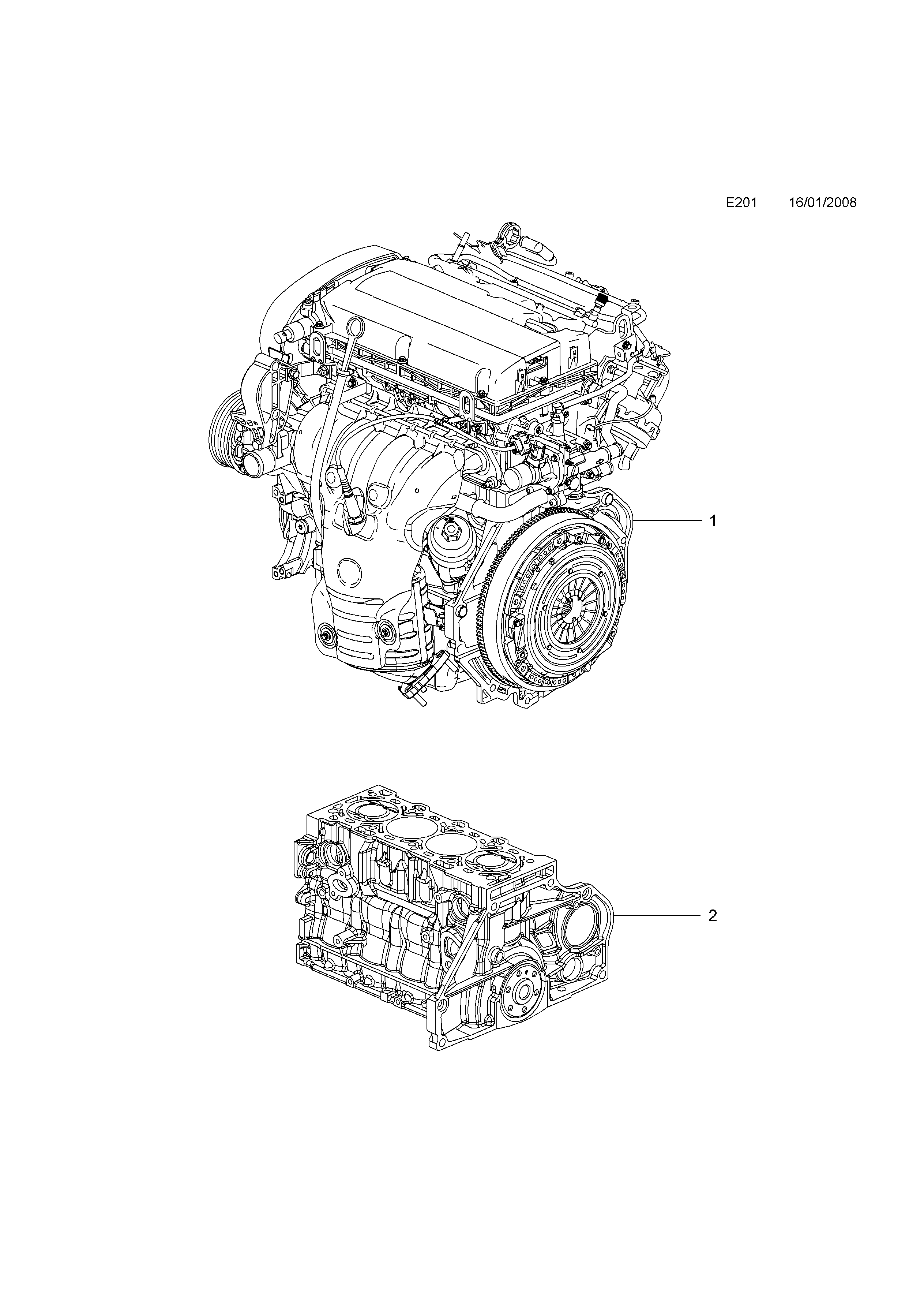 ENGINE ASSEMBLY OPEL INSIGNIA