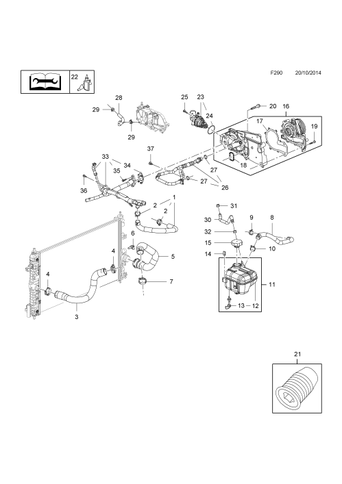 small resolution of opel engine schematic
