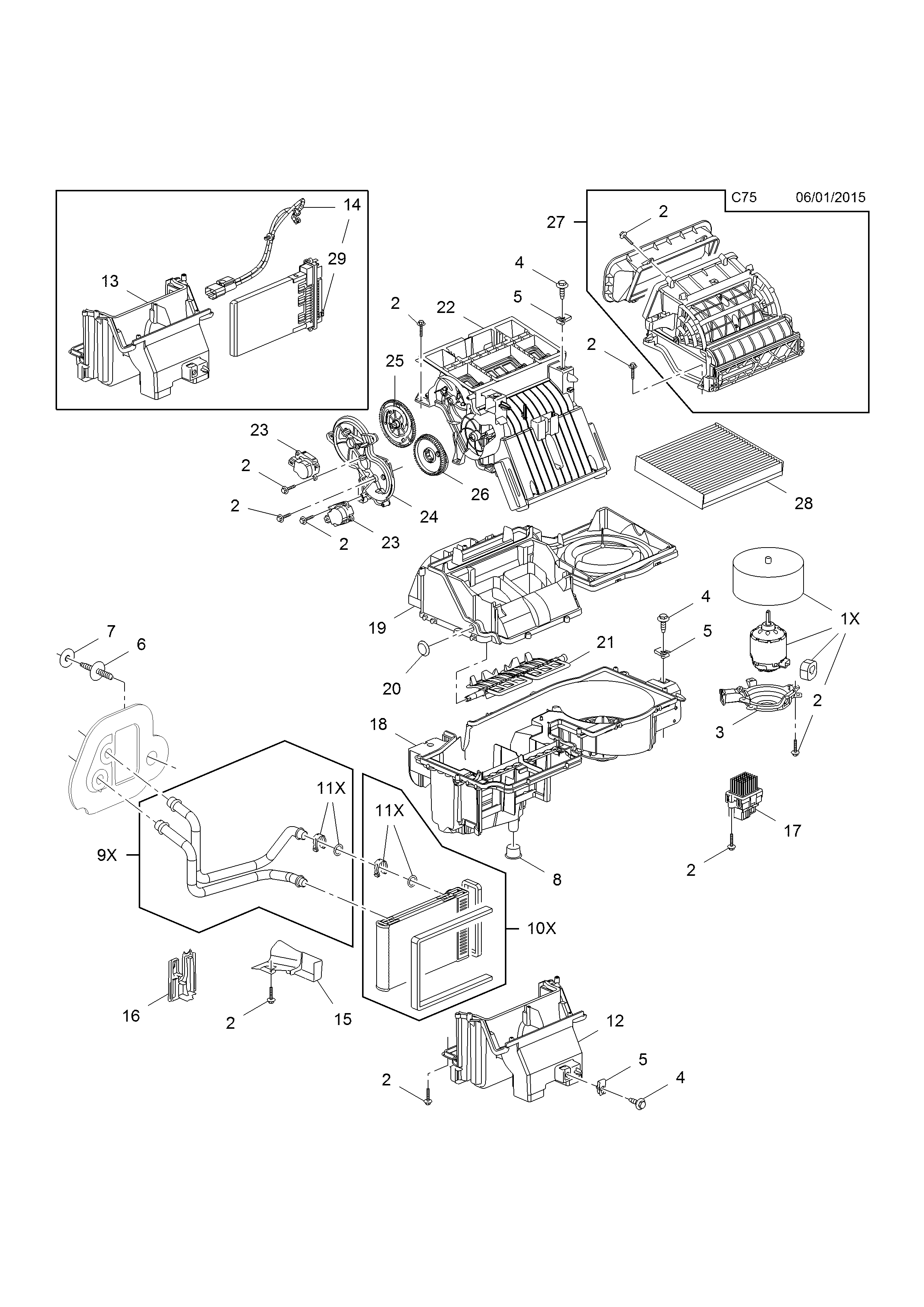 HEATER UNIT AND FAN [EXCEPT AIR CONDITIONING OR CLIMATE