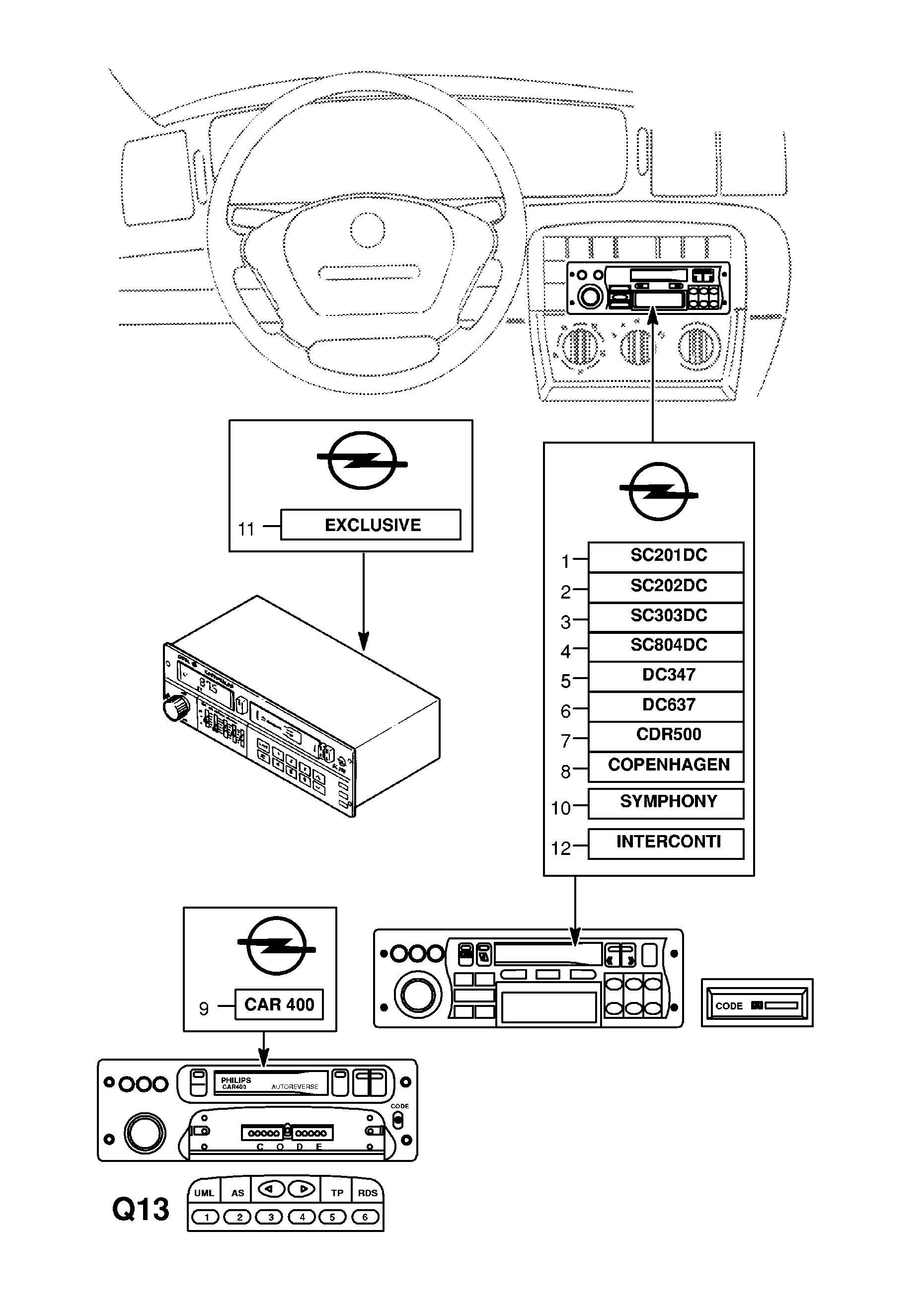 Vauxhall Cdr Wiring Diagram