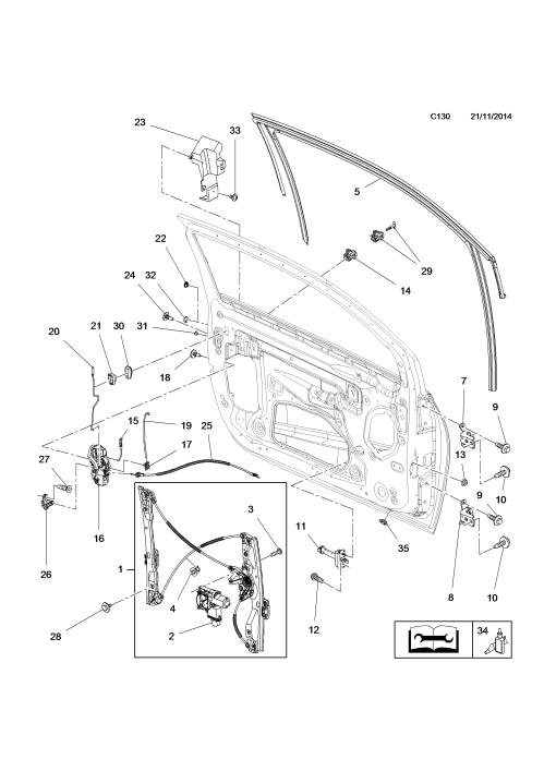 small resolution of car door lock mechanism diagram