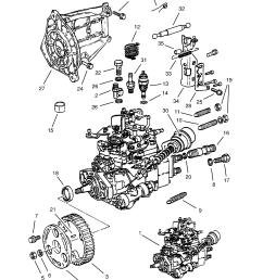 fuel injection pump contd 17d lu7 17dr lu7 diesel engines bosch used with five speed manual transmission opel kadette e [ 1860 x 2631 Pixel ]