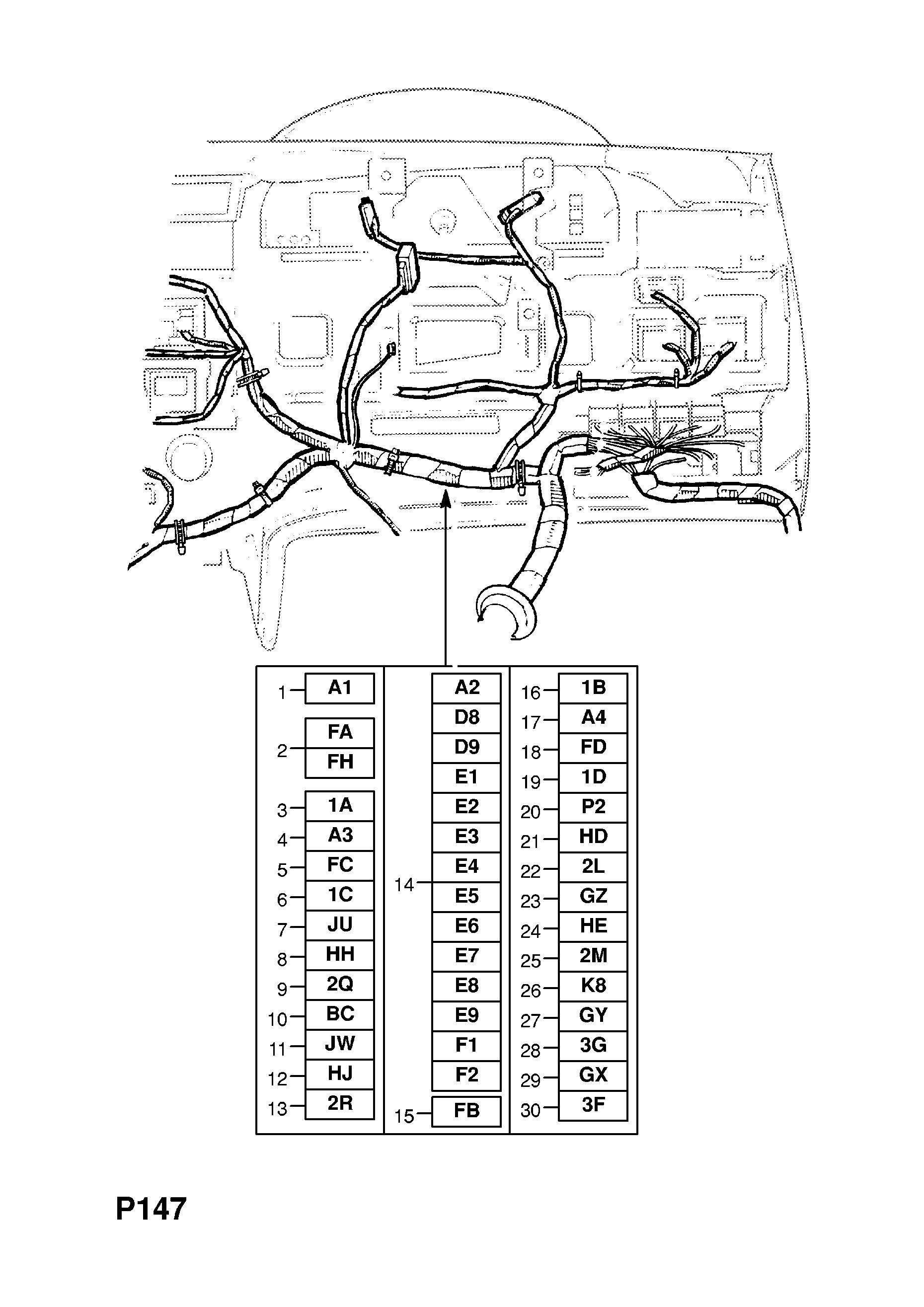 Unique Opel Kadett F Dashboard Wiring Diagram Pics