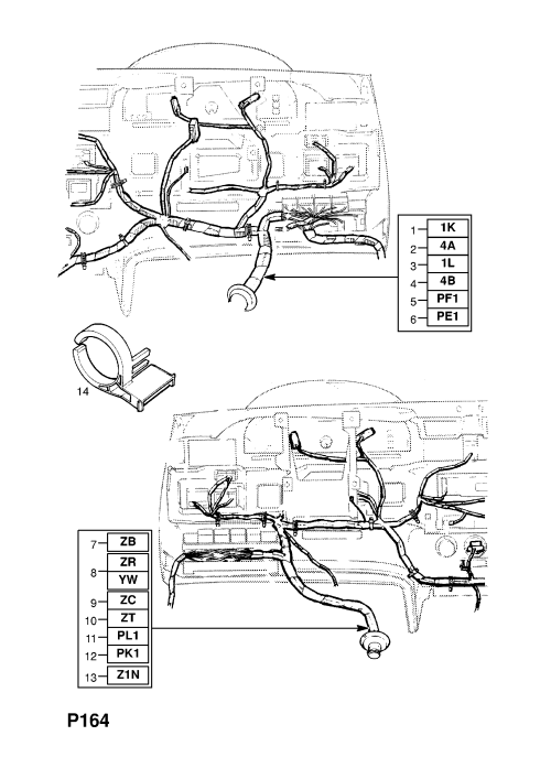 small resolution of old fashioned opel kadett f dashboard wiring diagram pics