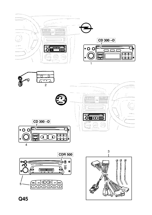 small resolution of vauxhall cdr 500 wiring diagram