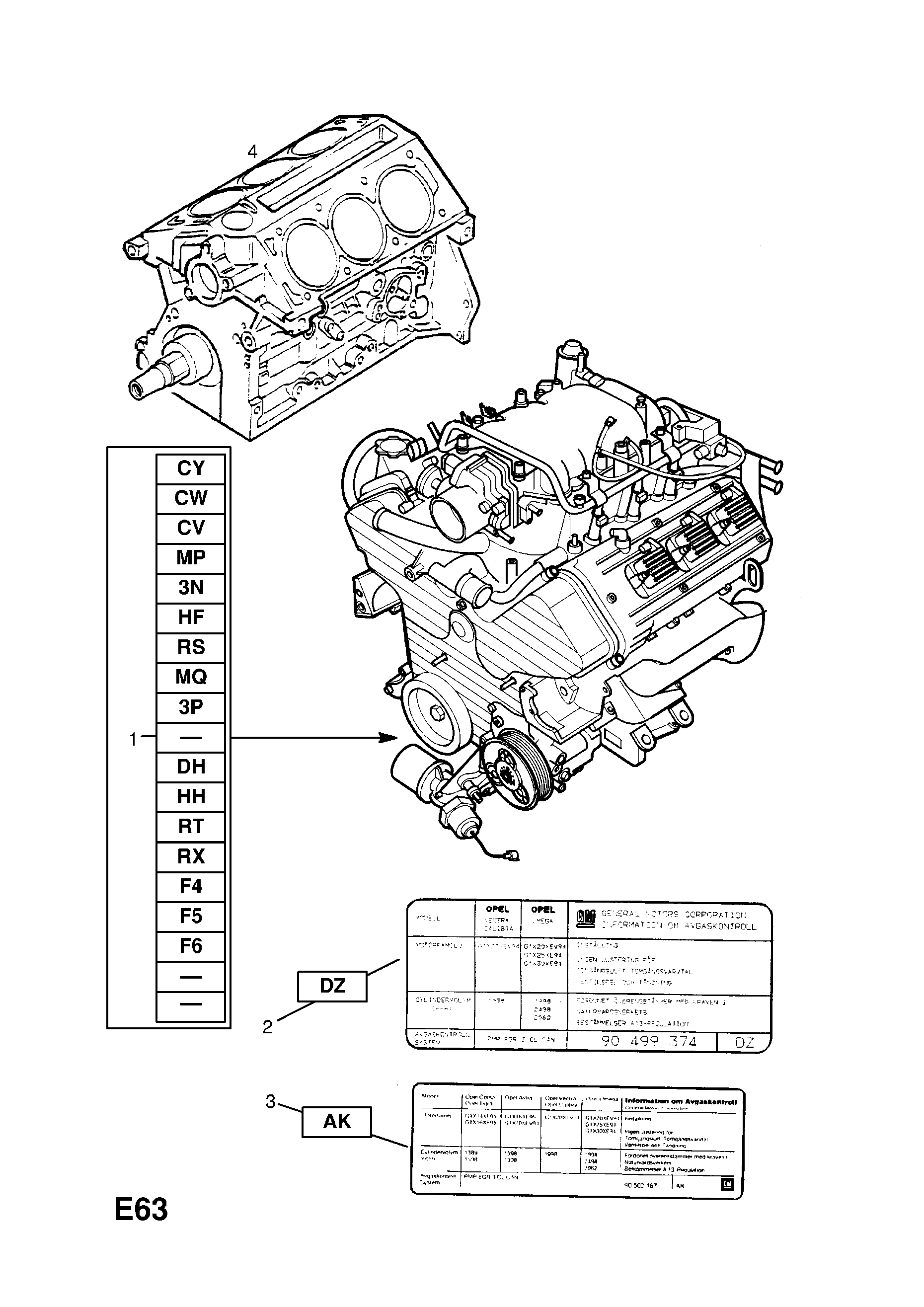 ENGINE ASSEMBLY [Y32SE[LA3] PETROL ENGINE MANUAL