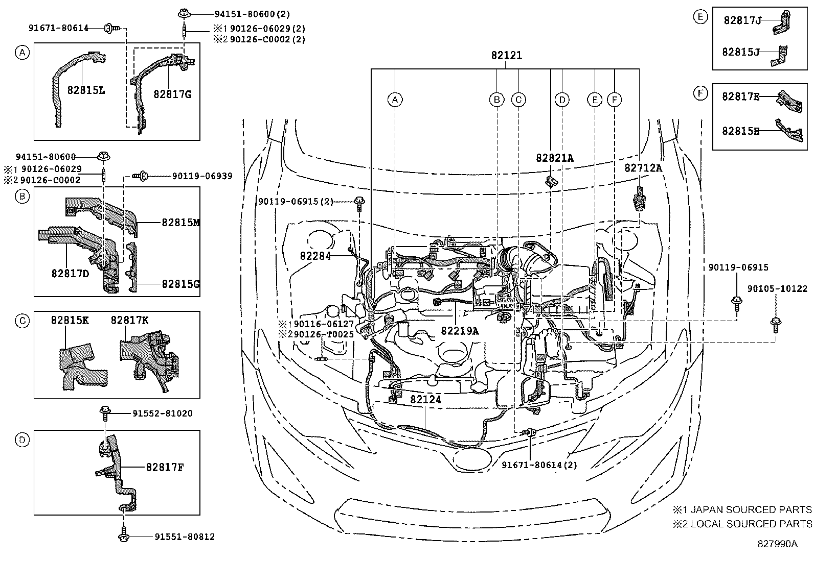 Car Stereo Radio Wiring Diagram Toyota Camry