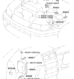 electronic fuel injection system toyota caldina at191 ct19 et196 st19 japan  [ 760 x 1112 Pixel ]