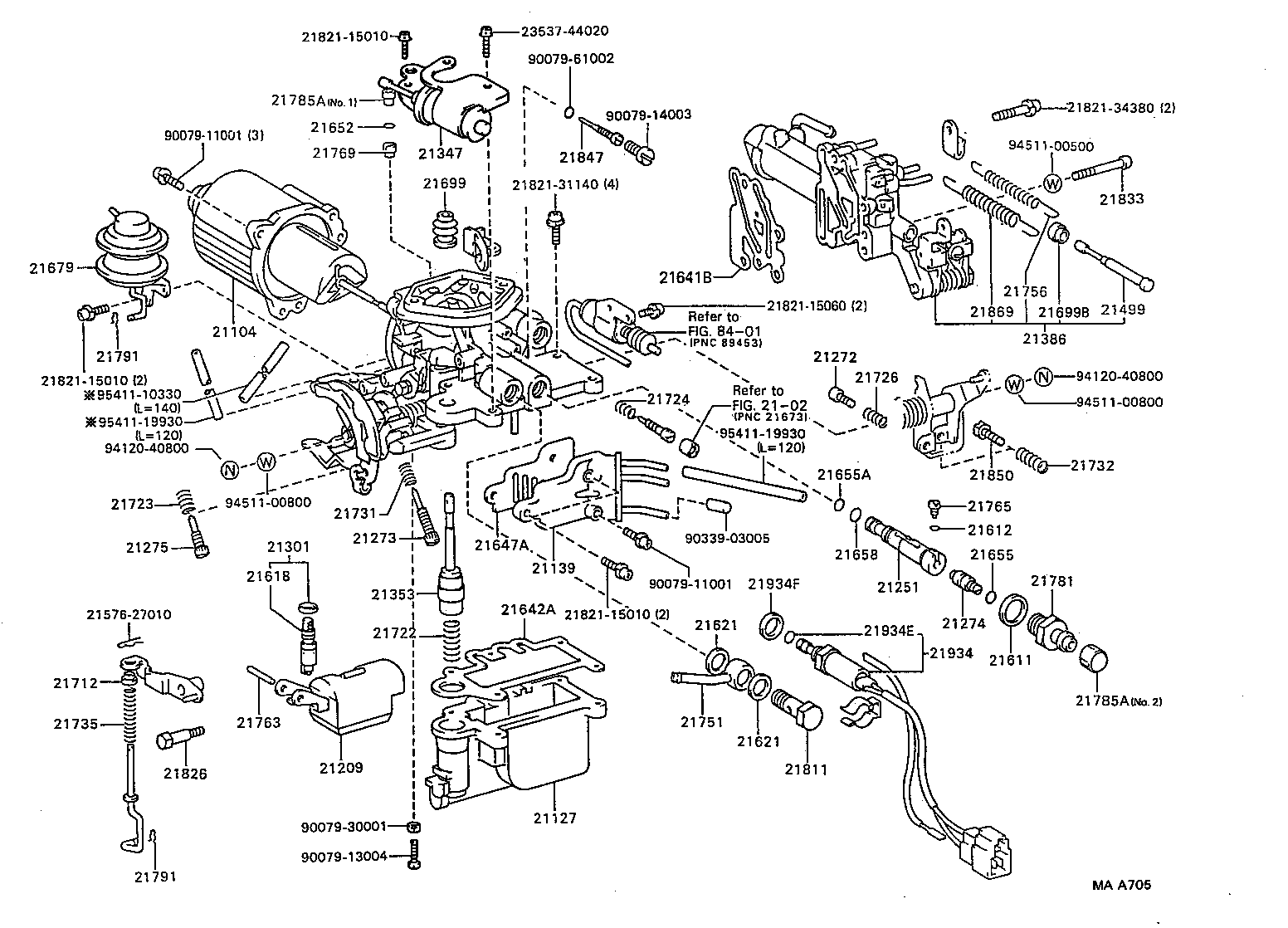 hight resolution of toyota 3e engine diagram wiring diagram repair guides carburetor 8711 2e 3e