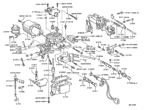 small resolution of toyota 3e engine diagram wiring diagram repair guides carburetor 8711 2e 3e
